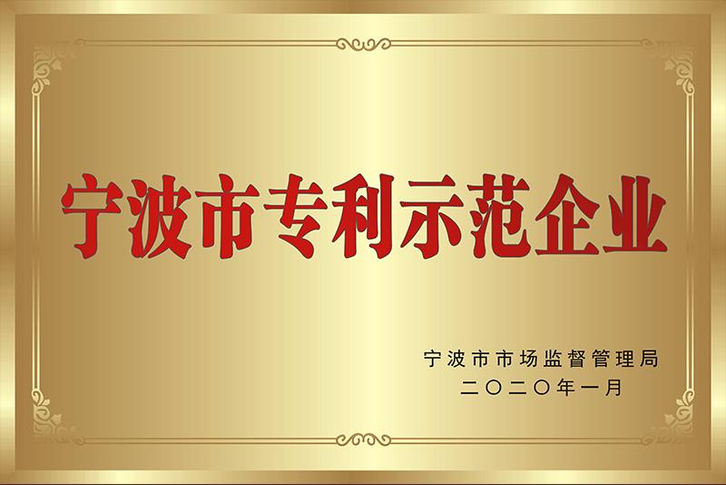 宁波市专利示范企业